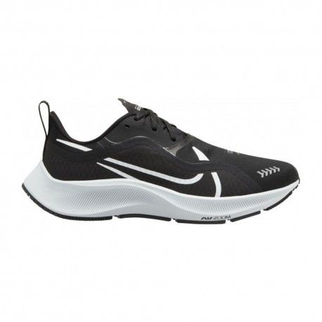 Nike Scarpe Running Air Zoom Pegasus 37 Shield Nero Bianco Donna