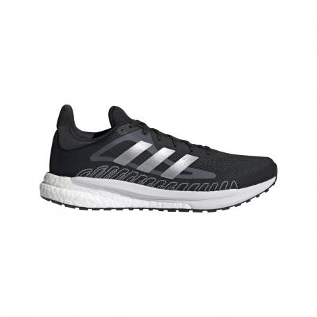 Adidas Scarpe Running Solar Glide Nero Grigio Argento Uomo