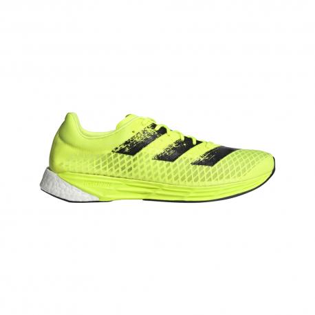 Adidas Scarpe Running Adizero Giallo Fluo Nero Uomo