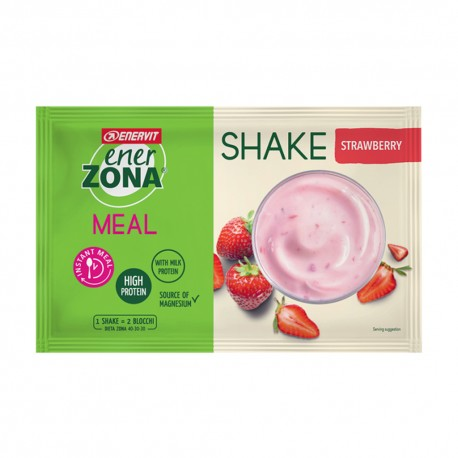Enervit Instant Meal Enerzona Shake Fragola