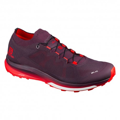 Salomon Scarpe Trail Running SLab Ultra 3 Rosso Uomo