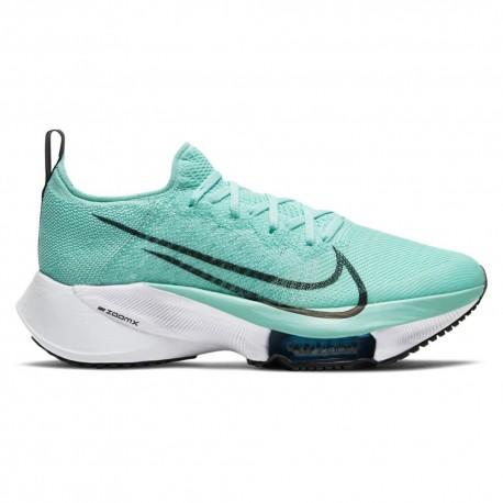 Nike Scarpe Running Air Zoom Tempo Next% Azzurro Nero Donna