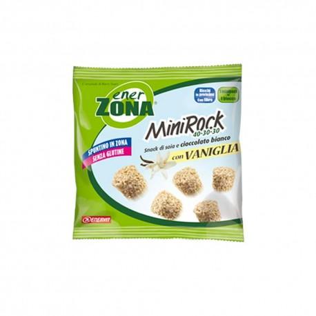 Enervit Snack Proteico Enerzona Minirock 40-30-30 Vaniglia